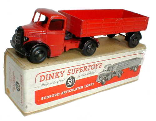 Dinky 521 red with plain box