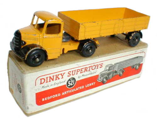 Dinky 521 yellow with plain box