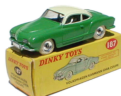 Dinky 187 in very rare picture box