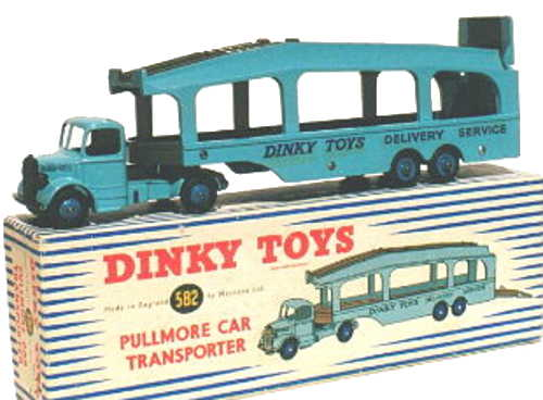 Dinky 582 Early version with 6 rivets