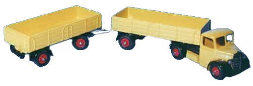 Dinky 521 with 428 trailer