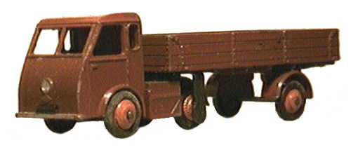 Dinky 421 Electric Articulated Lorry