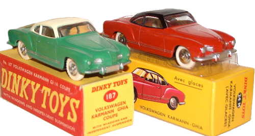 Dinky Atlas 24M and Dinky 187