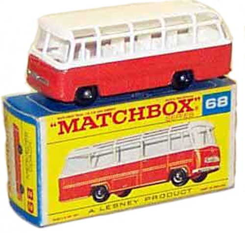 Bus with box